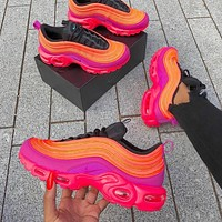 shosouvenir Nike Air Max Plus 97 Pink air cushion leisure running shoes