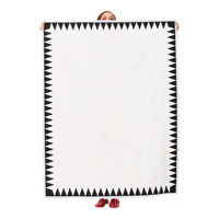 Screen-Printed Tablecloth