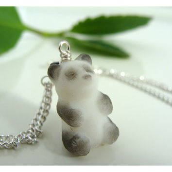 Resin Panda Necklace