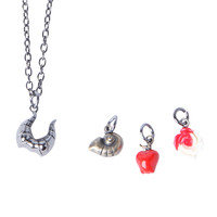 Disney Villains Interchangeable Charms Necklace