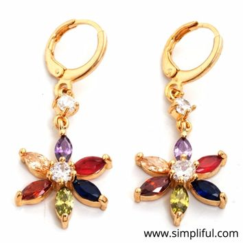 Dailywear CZ Earring - Gold plated - Different designs available