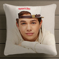 Austin Mahone Square Pillow Case Custom Zippered Pillow Case one side and two side