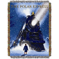Polar Express - Engine Wonder  Triple Woven Jacquard Throw (48x60)