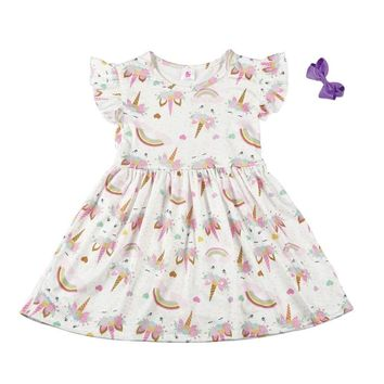 Semi RTS Unicorn Dress-Limited QTY & STOCK