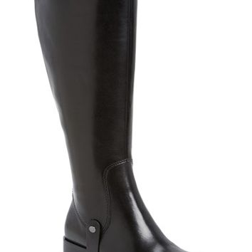 "Women's Via Spiga 'Carol' Riding Boot (Wide Calf), 1 1/2"" heel"