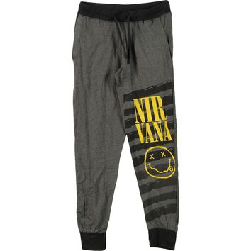 Nirvana  Men's Joggers Sweatpants Charcoal