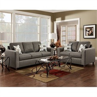 Onyx Living Room Set  - Flash Furniture 3600VIVIDONYX-SET-GG