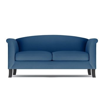 Albright Loveseat in BLUEBERRY - CLEARANCE