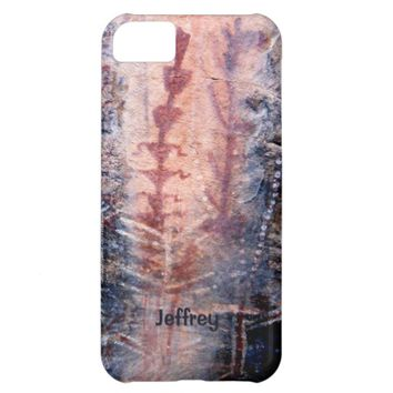 iPhone 5c Case, Ancient Pictographs, Personalized iPhone 5C Case