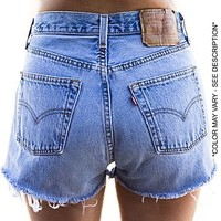 Vintage Levi's High Rise Cutoff Shorts