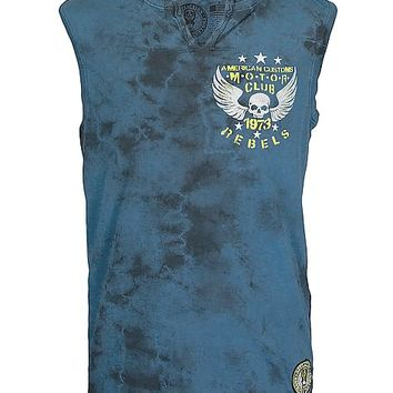 Affliction American Customs Motor Club Tank Top