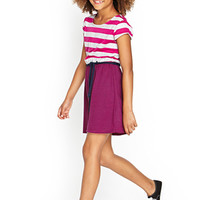 FOREVER 21 GIRLS Striped Combo Dress (Kids)