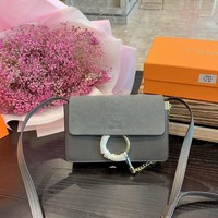 8-21【NEW】Chloe classic small faye leather ladies small shoulder diagonal package chain bag original gift box packaging