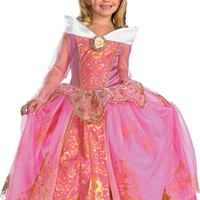Disney Storybook Aurora Prestige Toddler / Child Costume