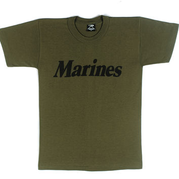 Olive Drab Military Physical Training T-Shirt
