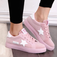 Casual Shoes Summer Flat-bottomed Shoes Flats Comfortable Platform Shoes