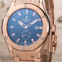 Hublot men and women fashion exquisite quartz watch F