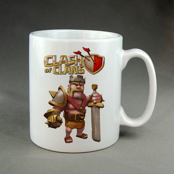 clash of clans,coffee mug,tea mug,ceramic mug