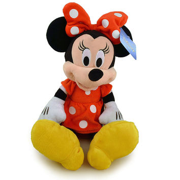 Disney Mickey Mouse Clubhouse Minnie Mouse Plush - Red Polka Dot Dress