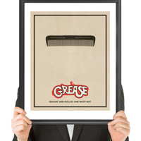 GREASE, Movie Poster, Fine Art Print