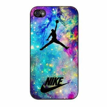 DCKL9 Nike Air Jordan Nebula iPhone 4 Case