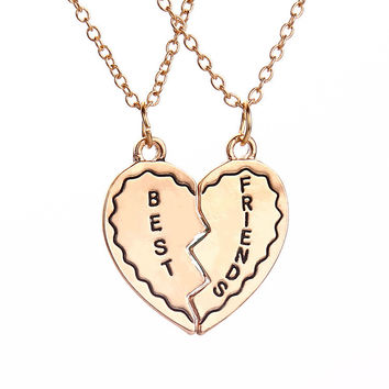 New Arrival Gift Shiny Jewelry Stylish Accessory Set Birthday Gifts Chain Necklace [8804752775]