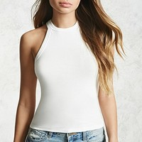 High Neckline Tank Top