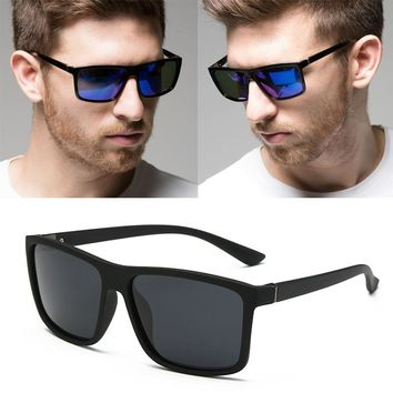 Men Polarized Square sunglasses