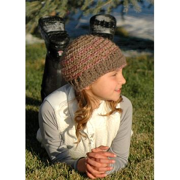 Youth & Kids Alpaca Hats - Hand Knit, Custom Designs
