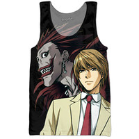 Death Note Light Yagami And Reuke