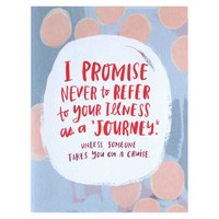 Illness Not Journey Empathy Card ™