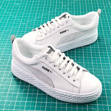 Puma Suede Classic Basket White Sneakers - Best Online Sale