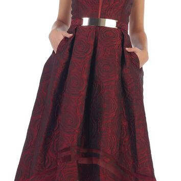 High Low Prom Party Formal Dress