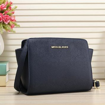 Michael Kors Women Fashion Leather Satchel Bag Shoulder Bag Crossbody