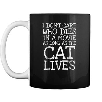 Cat Funny  Cat Lives Cool Kitties Tee  Gift Mug