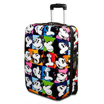 Disney Rolling Pop Art Mickey Mouse Luggage -- 20'' | Disney Store