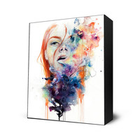 This Thing Called Art Mini Art Block by Agnes Cecile