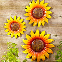 Sets of 3 Wall Sunflowers
