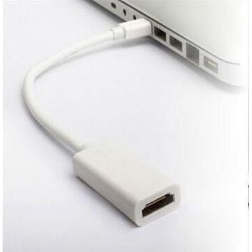 High Quality Thunderbolt Mini DisplayPort Display Port DP to HDMI Adapter Cable For Apple Mac Macbook Pro Air