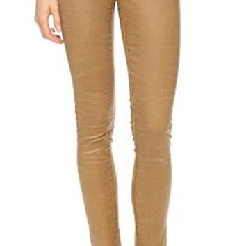 AG Adriano Goldschmied Leatherette Super Skinny Legging Jeans