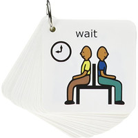 Autism Supplies And Developments Picture Exchange Communication System Behavior Key-ring