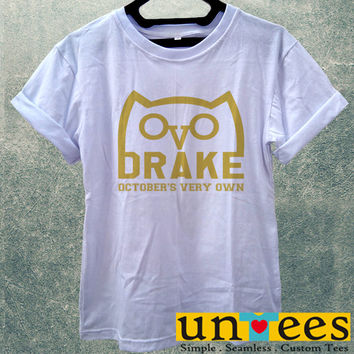 Drizzy Drake October's Very Own Ovo Ovoxo Owl Logo Women T Shirt