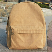 Korean Canvas Casual Backpack = 4887422980