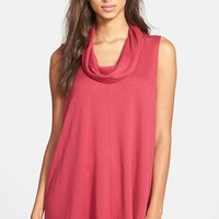 Women's Madison & Berkeley Cowl Neck Sleeveless Top,