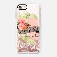 Casetify iPhone 7 Classic Grip Case - Amour by Li Zamperini Art #iPhone 7