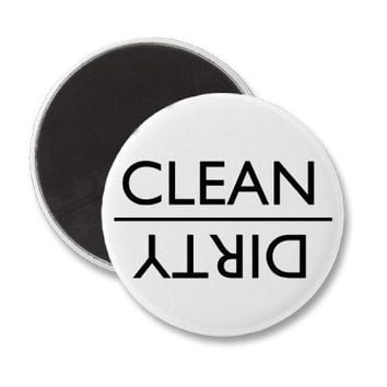 Dirty or Clean Dishwasher Magnet (new) from Zazzle.com