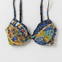 Printplay Bra by Anthropologie Blue Motif 34c Intimates