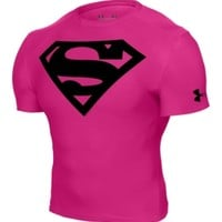 Under Armour Men's Power In Pink Alter Ego Superman Compression Shirt - Dick's Sporting Goods