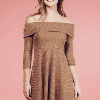 Audrey Off The Shoulder Dress