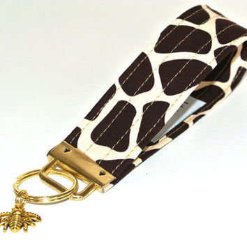 Off to the Zoo :Keychain, Keyfob, Keychain Wristlets